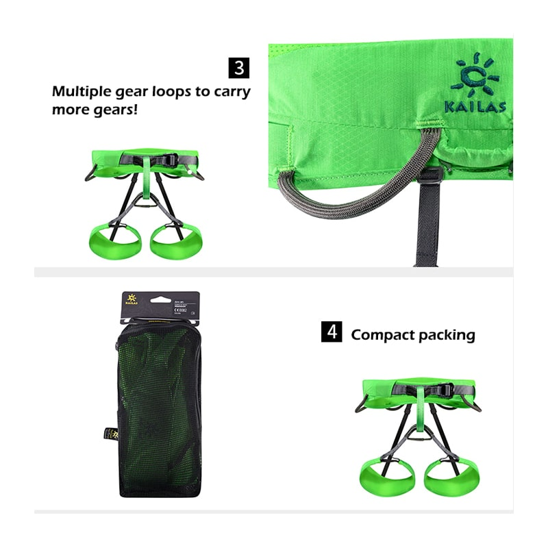 Kailas AIRO rock climbing harness product details page 3 min